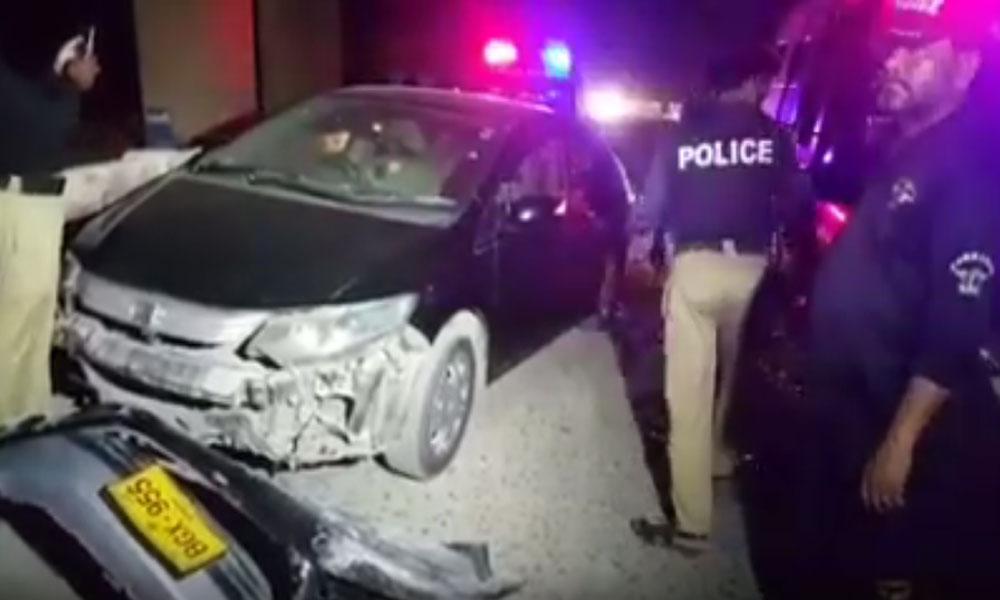 سہراب گوٹھ کراچی میں گاڑی پر فائرنگ، ایک شخص جاں بحق