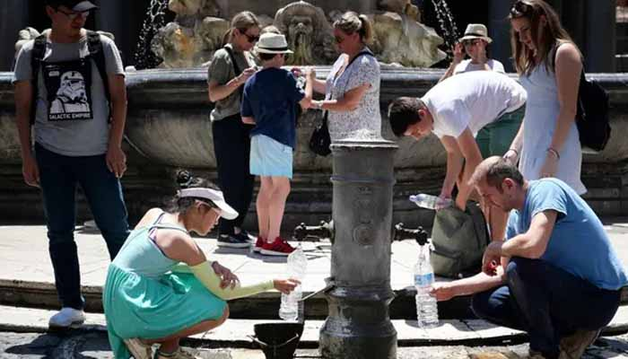یورپی ممالک میں شدید گرمی کی لہر