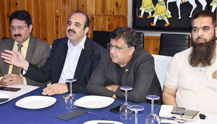 اسپین: پاکستانی سفارتکار کا تاجروں کے اعزا ز میں عشائیہ