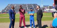 India Win Toss Elect To Bat First Against West Indies