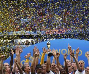 امریکا نے ویمنز فٹبال ورلڈکپ جیت لیا