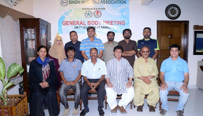 عارف حفیظ سندھ کھوکھو کے بلامقابلہ صدر، ریحانہ آصف سیکریٹری منتخب