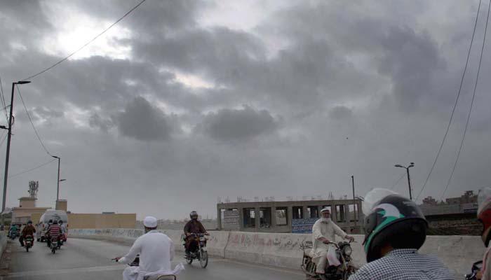 کراچی کا مطلع جزوی ابرآلود رہنے کا امکان
