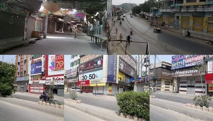 کراچی: تاجروں کی ہڑتال پر ملا جلا رجحان