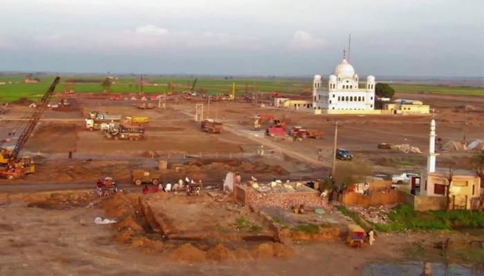 کرتارپور راہداری کی تعمیر کا کام آخری مراحلمیں ڈاخل
