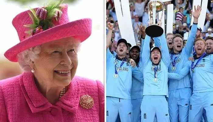 ملکہ برطانیہ اور شہزادہ فلپ کی انگلش ٹیم کو مبارکباد