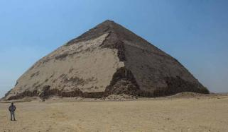 Egypts Bent Pyramid Opens To Visitors