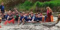 Dragon Boat Tournament Held In Vladivostok