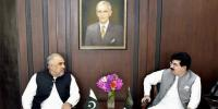 Speaker National Assembly And Two Chief Ministers Meet Chairman Senate