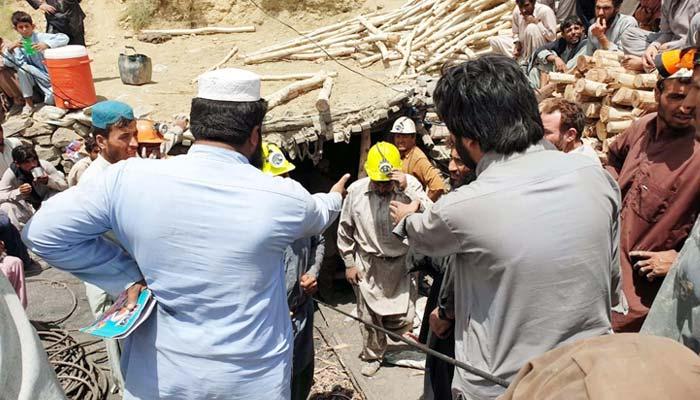 کوئٹہ: کان سے 4 کارکنوں کی لاشیں نکال لی گئیں