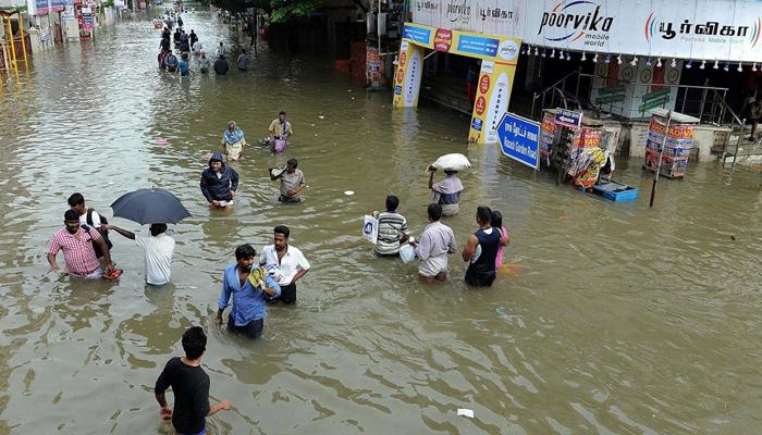 بھارت میں شدید بارشیں،51 افراد ہلاک