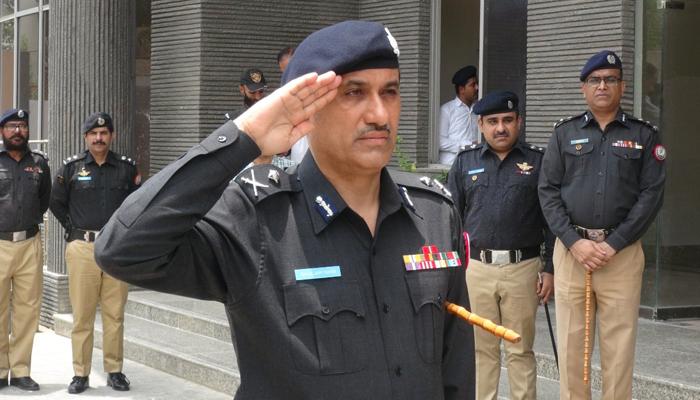 کراچی پولیس چیف غلام نبی میمن نے چارج سنبھال لیا