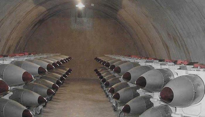 یورپ بھر میں 150 امریکی ایٹمی ہتھیار اسٹور