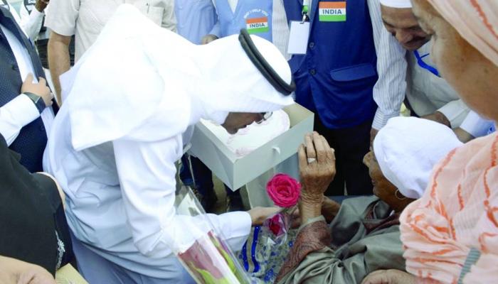 بھارت کی 101سالہ خاتون حج کیلئے سعودی عرب پہنچ گئی