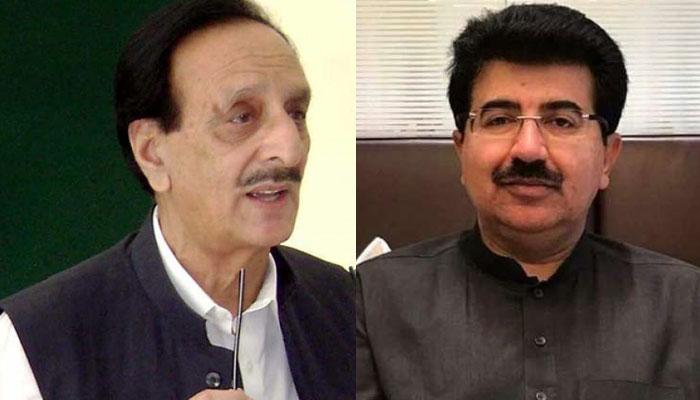 صادق سنجرانی کی راجا ظفر الحق سے ملاقات