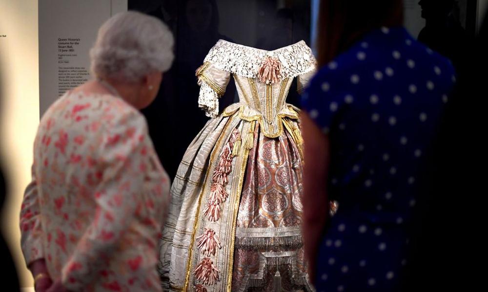 ملکہ وکٹوریا سےمتعلق اشیاء کی نمائش