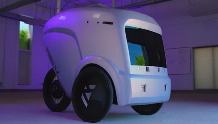سامان کی ترسیل کیلئے روبوٹک کار