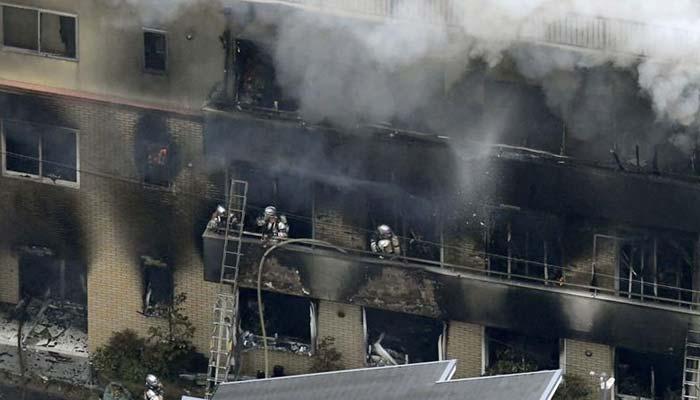جاپان: اینی میشن اسٹوڈیو میں آتشزدگی، ہلاکتیں 33 ہوگئیں