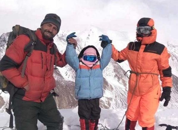 ننھی پاکستانی کوہِ پیما کا نیا عالمی ریکارڈ