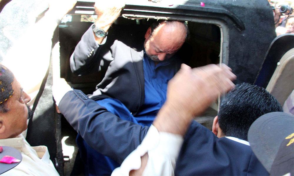 چچی کے انتقال پر آغا سراج کی 3 روز کیلئے رہائی