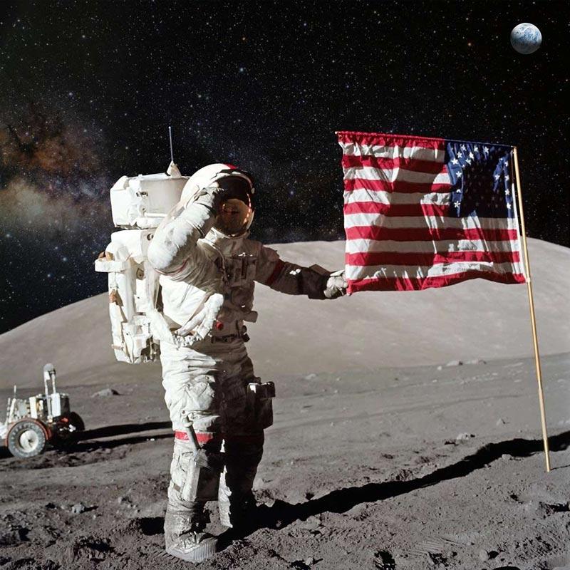 قصہ 50 برس قبل کا، جب انسان نے چاند پر قدم رکھا