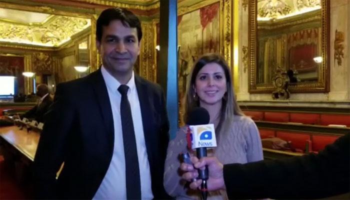 برسلز:پاکستانی کونسلر کی اسٹیٹ سیکریٹری کو مبارکباد