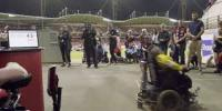 Most Power Wheelchair Spins In One Minute
