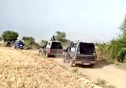 کچے کے جنگلات میں پولیس مقابلہ