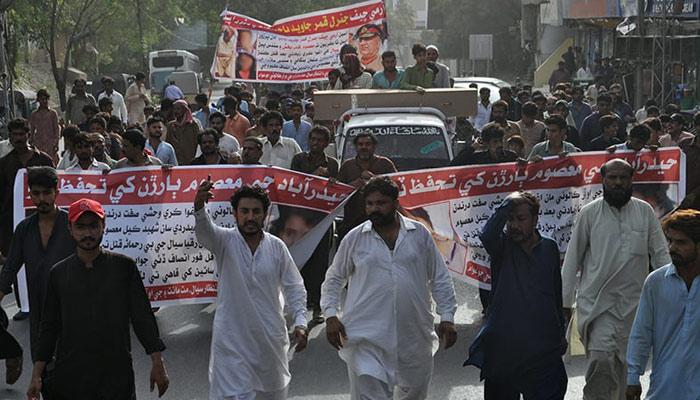 ''دو بچوں کا بہیمانہ قتل'' عوام کے احتجاج کے بعد پولیس کارروائیوں کا آغاز