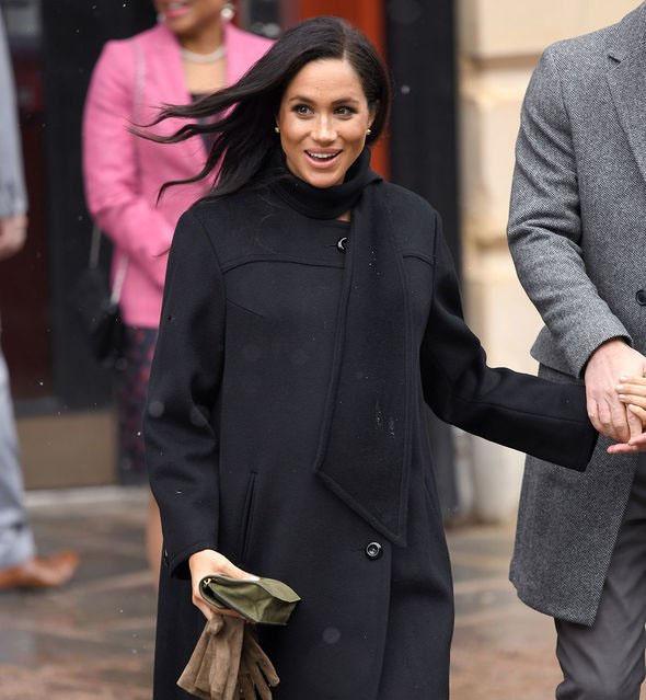 میگھن ہمیشہ کالا لباس ہی کیوں پہنتی ہیں ؟