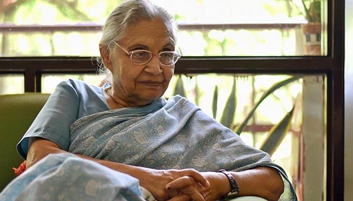 دہلی کی سابق وزیراعلیٰ شیلا ڈکشٹ چل بسیں