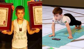 6yo Chechen Kid Sets 2 Push Up World Records