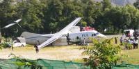 Pia Flight Skids In Gilgit