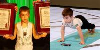 6yo Chechen Kid Sets 2 Push Up World Records