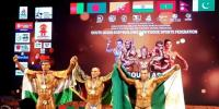 Pakistan Usman Umar Claims Gold Medal In South Asian Bodybuilding Championship