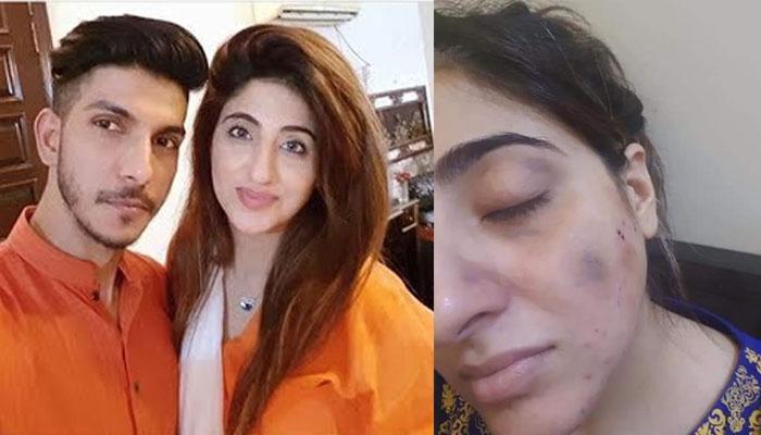 محسن عباس کا اہلیہ پر تشدد، سوشل میڈیا پر وائرل