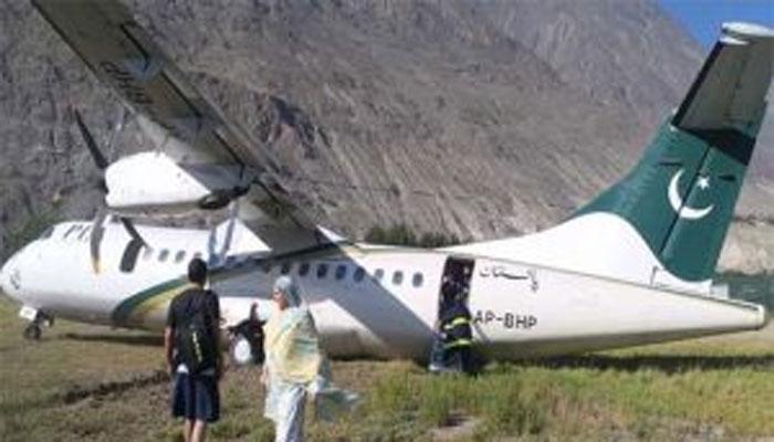 گلگت: پی آئی اے کے طیارے کی ریکوری کا کام شروع