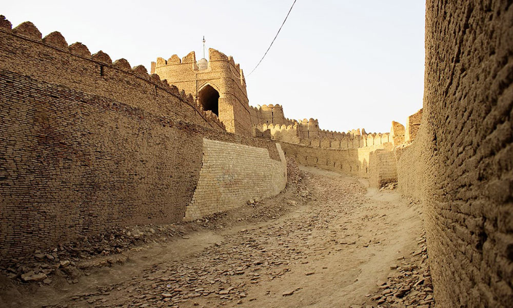 'کوٹ ڈیجی کا قلعہ' تعمیراتی فن کا لازوال شاہکار