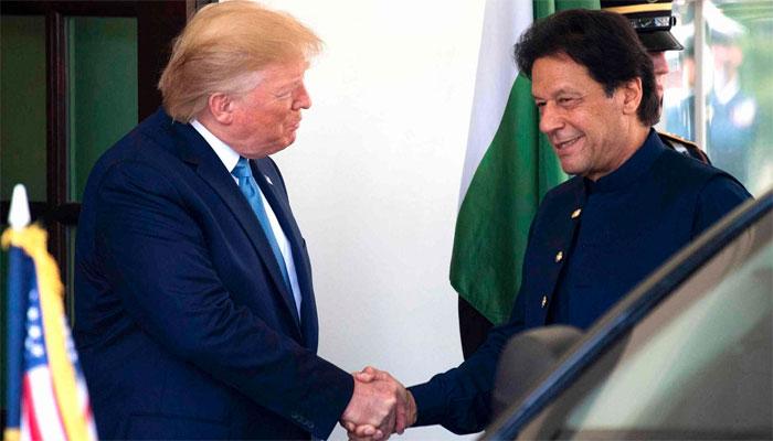 عمران خان اور ٹرمپ کی ون آن ون ملاقات