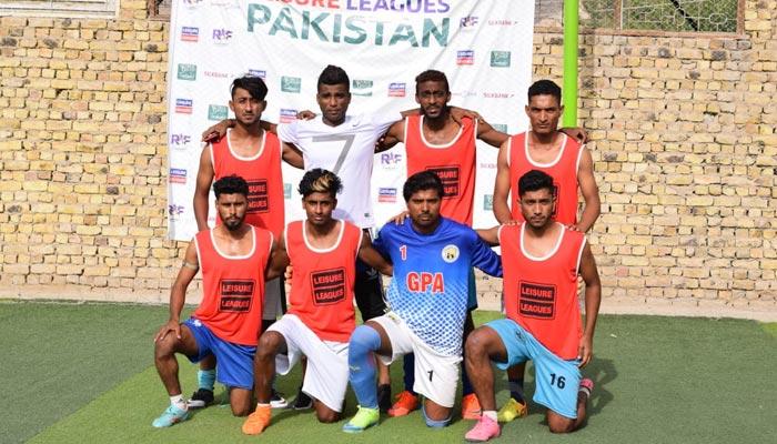 لیژر لیگز فٹبال: بلوچستان کے فائنل راؤنڈ مکمل