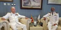 Chief Of Naval Staff Meets Commander Uae Naval Forces