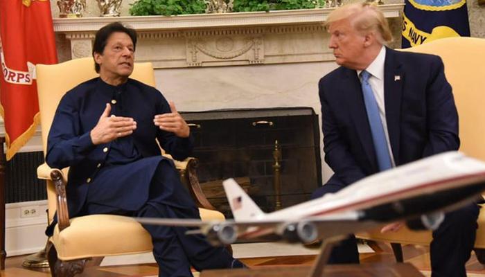 ٹرمپ نے دہشتگردوں کےخلاف پاکستان کی کارروائی کااعتراف کیا، وائٹ ہاؤس