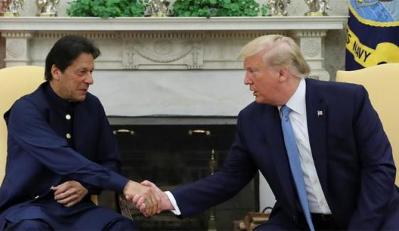 Imran Trump Successful Meeting Irks Indian Media