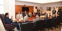 Imran Khan Meets With Delegation Of Us Pakistan Business Council