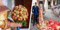 Chicago Town Launches Competition For A Lucky Bride To Walk Down The Aisle Wearing A Pizza Wedding Dress