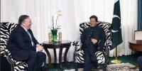 Imran Khan Meeting With Mike Pompeo
