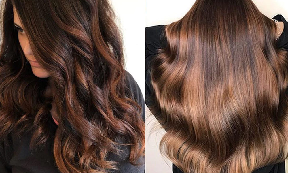 لمبے، گھنے اور چمک دار بال