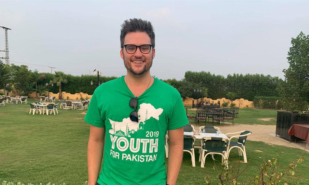 جریمی میکلن پاکستان میں مزے کرنے پہنچ گئے