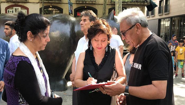 شہدائے کشمیر ریلی کا انعقاد ہم وطنوں کی بڑی تعداد میں شرکت
