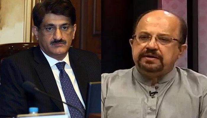 سندھ میں پیپلز پارٹی اور تحریک انصاف کے درمیان لفظی گولہ باری